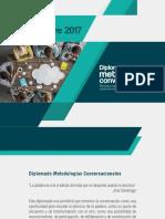 Brochure Diplomado Metodologias Conversacionales