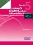 Participación Estudiantil en Educación Básica Alternativa. Módulo 5 (PERÚ)
