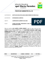 Contrato Compraventa No. 08 - Distribuidora Limpiatec ---