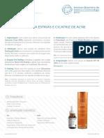 Tratamento Para Estrias e Cicatriz de Acne