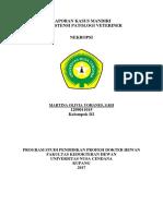 Laporan Kasus Patologi Veteriner (Autosaved) (Autorecovered)