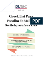 Checklist Escolha Switch