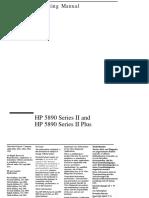 HP 5890 Series II Plus Manual