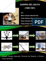 Presentación Guerra Del Golfo - Geopolítica