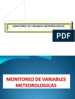 Monitoreo de Variables Meteorologicas