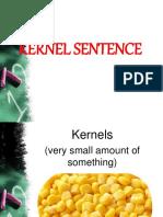 Kernel Sentence