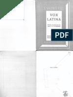 Valentí Fiol, Eduardo Vox Latina método de latín para los cursos 3o. y 4o. de bachillerato.pdf