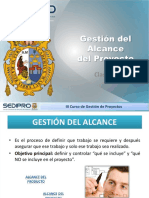 Gestión de Alcance - PMI