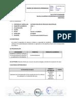 (f14-Pp-pr-01.04 Diseño de Sesión de Aprendizaje Automatizacion de Procesos Industriales 2014ii)