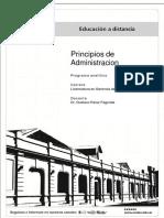Principios de Administración Programa 201