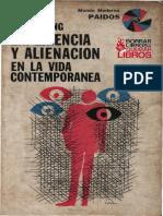 Laing, Ronald - Experiencia y Alienación en La Vida Contemporánea