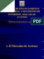 Fuentes de Financiamiento Acciones