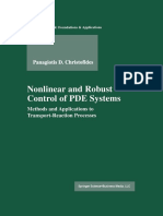 Nonlinear and Robust Control of PDE Systems (1)