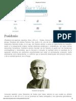 Biografia de Posidonio