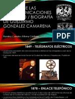 Historia de Las Telecomunicaciones en México