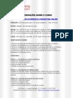 Curso de Gerentes Ecommerce e Marketing Online
