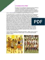 Evolución de La Danza en El Perú