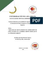 Informe Final Del Proyecto de Emprendimiento Jorge Paredes