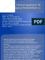 clinicalapproachtogynecologicalpatientpart1-130803014047-phpapp01
