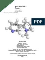 Instructivo de Química Orgánica 1 Segundo Semestre de 2017 Version 1 - Copia