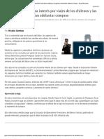 Baja del dólar dispara interés por viajes de los chilenos y las agencias recomiendan adelantar compras - Diario Financiero