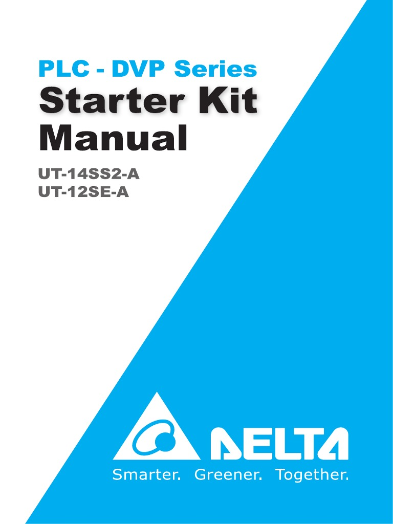 Delta Starter Kit Manual | Programmable Logic Controller