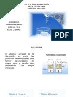 Floculación y Sedimentación (1)