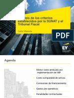 Análisis de los criterios establecidos por la SUNAT y el Tribunal Fiscal (1).pdf