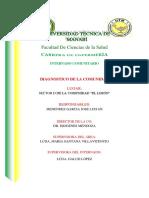 Diagnostico de comunidad Del Limón portoviejo