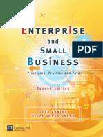 Sara Carter, Dylan Jones-Evan-Enterprise & Small Business Principles, Practice & Policy-Financial Times Management (2006)