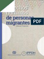 Manual Derechos Humanos de Personas Migrantes