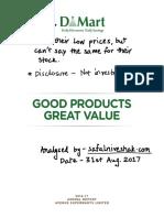 D-Mart Annual Report FY17 Analysis - SafalNiveshak.com.pdf
