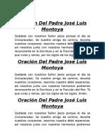 Oración Del Padre José Luis Montoya