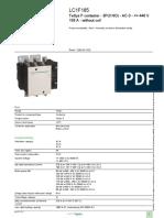 TeSys F Contactors_LC1F185