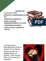 POGRAMACION NEUROLINGÜISTICA