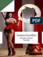 Grand Cirque Taddei - Andrea Camilleri