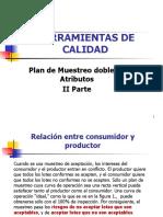 Plan Muestreo Doble IIparte