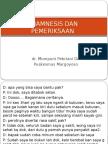 Anamnesa RM