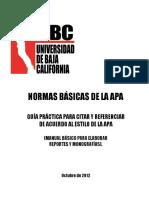 Manual Apa Ubc Trabajos Academicos