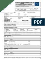 [MO-CHILE] Protocolo de Evaluación Del Frenillo de La Lengua Para Niño y Adultos