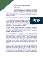 Lectura Inicial de La Adm. Fciera