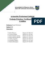 Trabajo Practico Verificacion de Creditos
