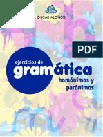 Ejerciciosdegramatica-Homonimos y Paronimos