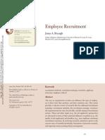 Employee Recruitment 2013