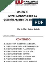 Sesion 6 - Instrumentos de Gestión Ambiental