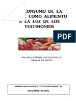 El consumo de la carne a la luz de los Testimonio