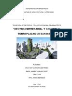 Centro Empresarial y Comercial Torreplazas de San Isidro