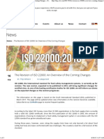 The Revision of ISO 22000 an Overview of the Coming Changes - DQS CFS - Audits & Certification