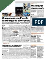 La Gazzetta dello Sport 31-08-2017 - Serie B