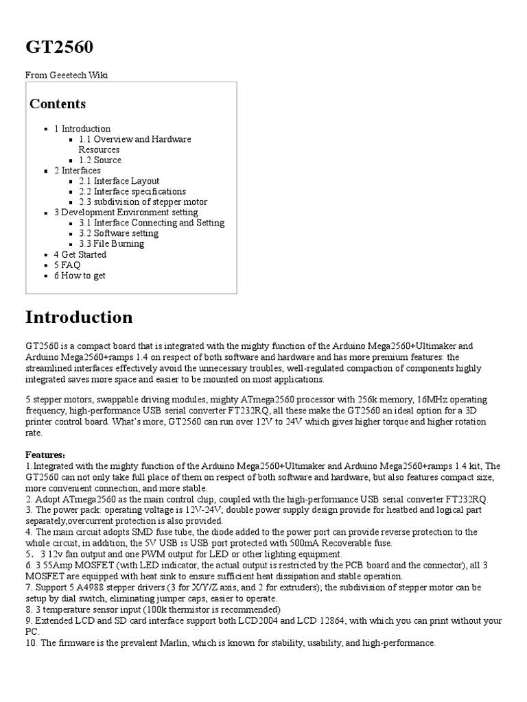 gt2560 geeetech wiki installation computer programs device rh es scribd com
